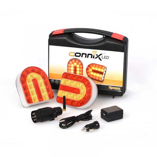 Connix Sparex Leuchtensatz - kabellos, Befestigung durch Magnet Landwirtschaft