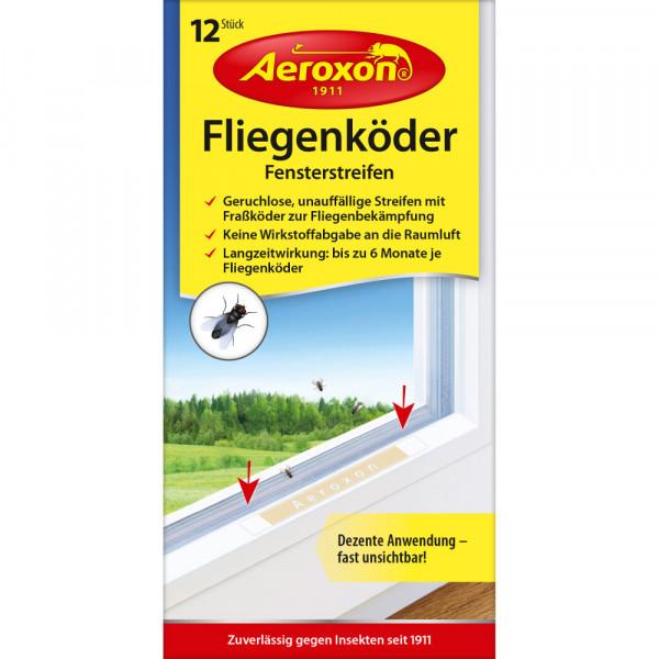 Aeroxon Fliegenköder Fensterstreifen