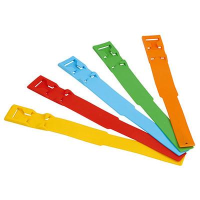 Fesselband PVC gelb