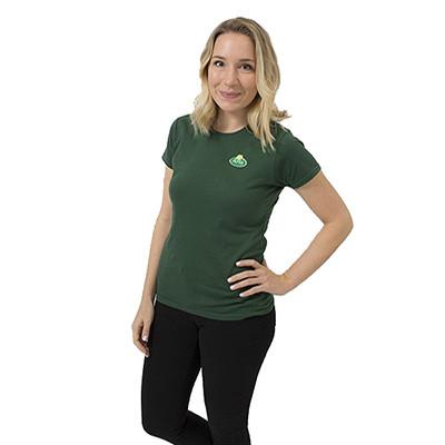 Arla T-Shirt Damen 3er Pack grün