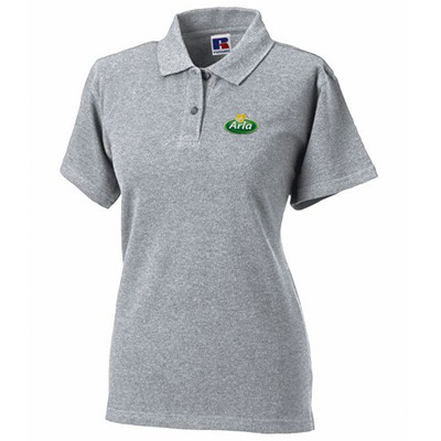 Arla Polo-Shirt Damen grau