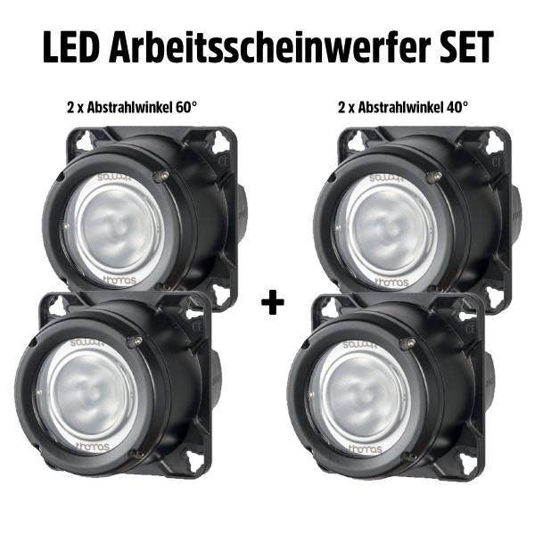 LED-Einbau Arbeitsscheinwerfer Set für Traktoren