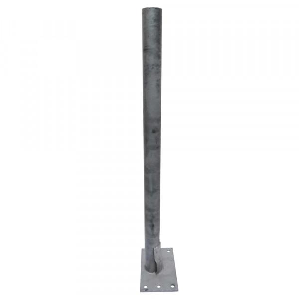 """Rohrpfosten 2½""""  1200 mm auf Platte"""