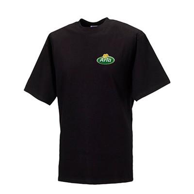 Arla T-Shirt Herren 3St. Schwarz