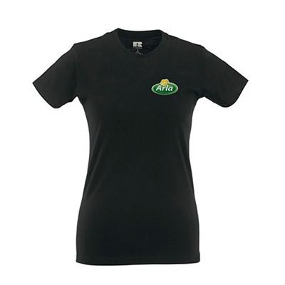 Arla T-Shirt Damen 3er Pack schwarz