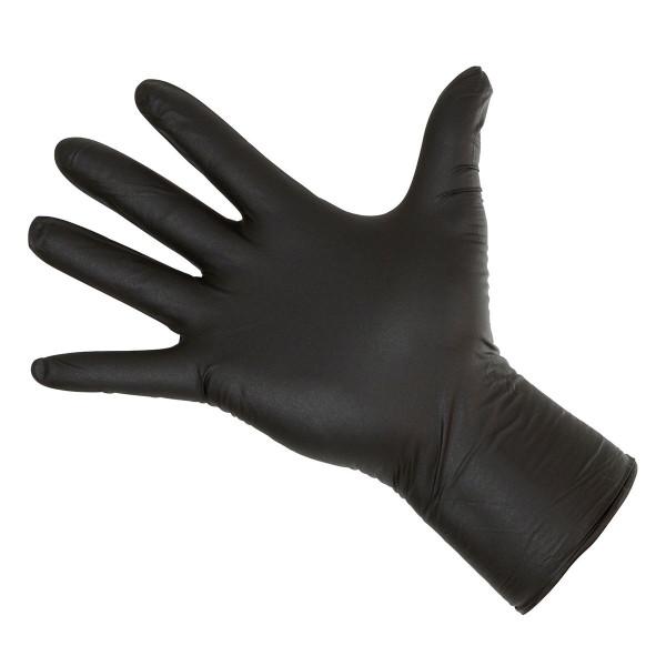 Einmalhandschuhe Nitrile Long Black 300 mm