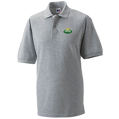 Arla Polo-Shirt Herren grau