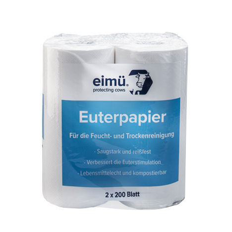 Euterpapier Eimü, 2x200 Blatt