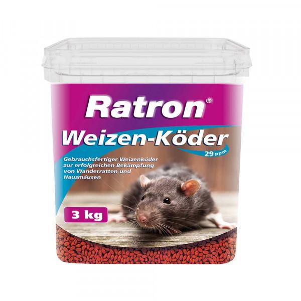 Ratron Weizen-Köder 3kg -freiverkäuflich