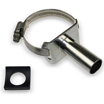 Schelle 32-52 mm mit Nippel 18 mm Milchleitung