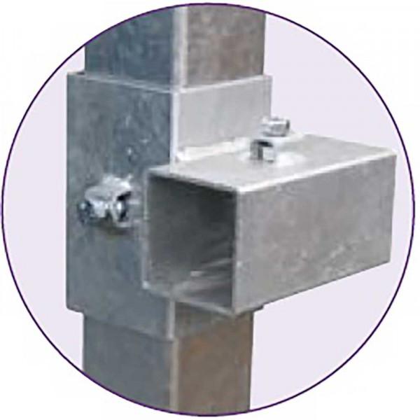 Kreuzklemme einzel 90x90x3 mm und 70x70x3 mm