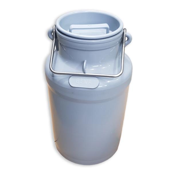 Milchkannen / 5 Liter mit Deckel