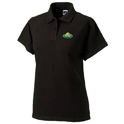 Arla Polo-Shirt Damen schwarz