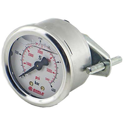 "Manometer 0-400 bar D50 1/4""AG Ehrle Hochdruckreiniger"