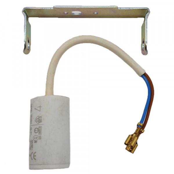 Kondensator 4 MF +- 5 % /400 V AC 50 HZ, passend zu Lüftermotor 19TFB4104 Tecumseh L'Unité  Kühlungen