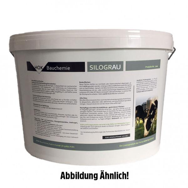 Siloanstrichfarbe Silograu 20 kg ca. RAL 6027