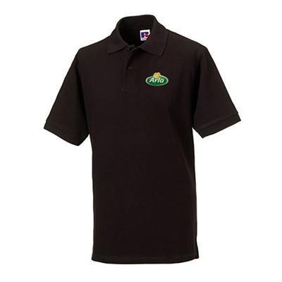 Arla Polo-Shirt Herren schwarz