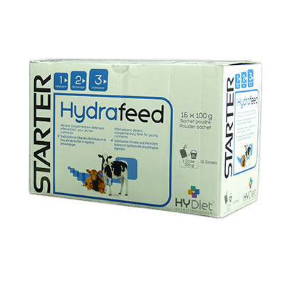 Hydrafeed gegen Kälberdurchfall