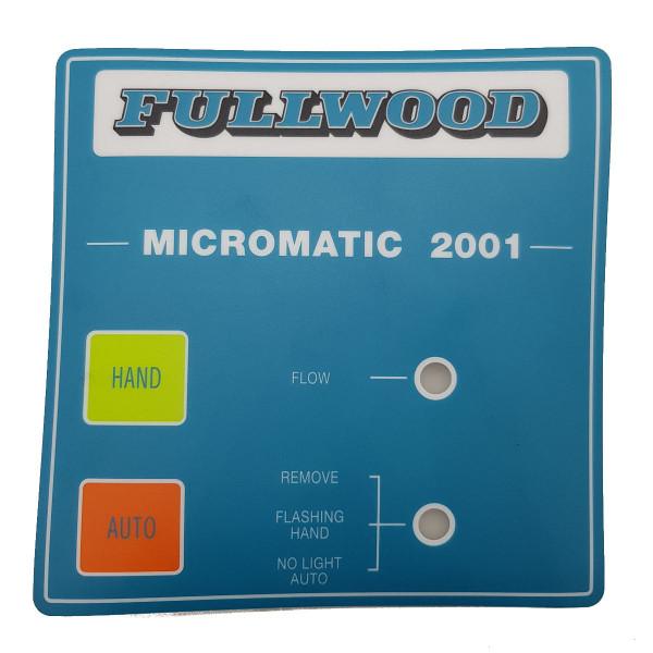 Tastaturfolie Fullwood Micromatic III