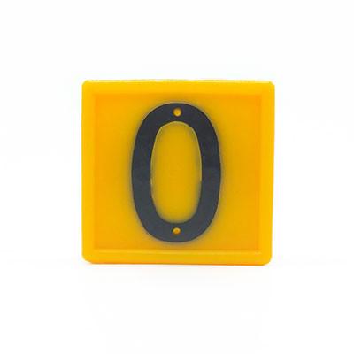 Nummernblock Nr 0 Halsbandnummer
