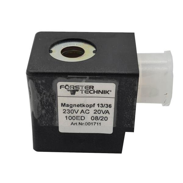 Zulaufventil Förster Magnetspule 220V